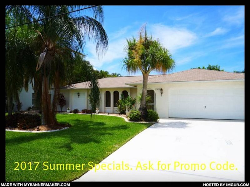 Happy Days - SE Cape Coral, 3b/2ba Pool Home, Gulf Access, Solar heated Pool - Image 1 - Cape Coral - rentals