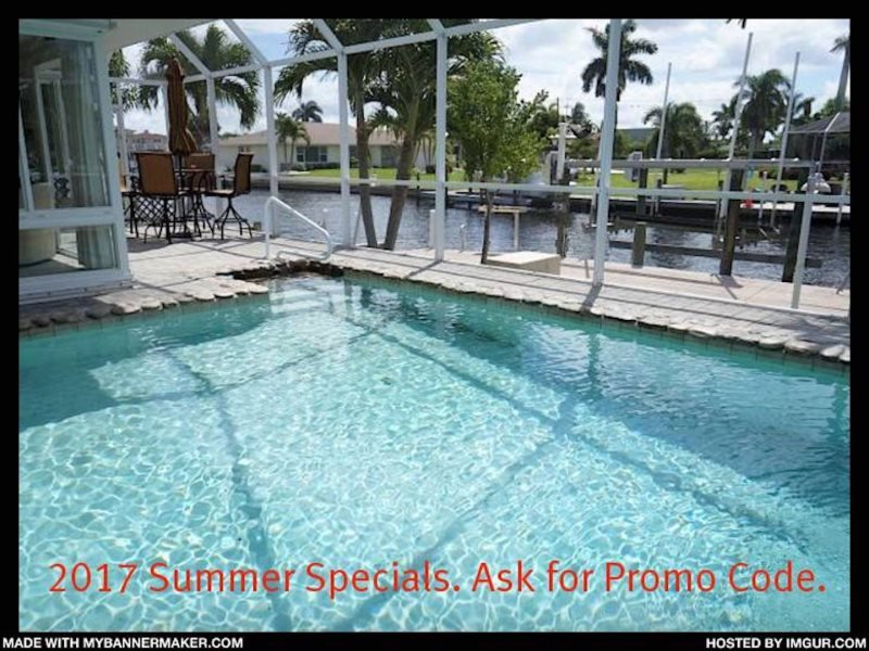 COPPER BEACH - SW Cape Coral 4b/3ba electric heated pool home, gulf access - Image 1 - Cape Coral - rentals