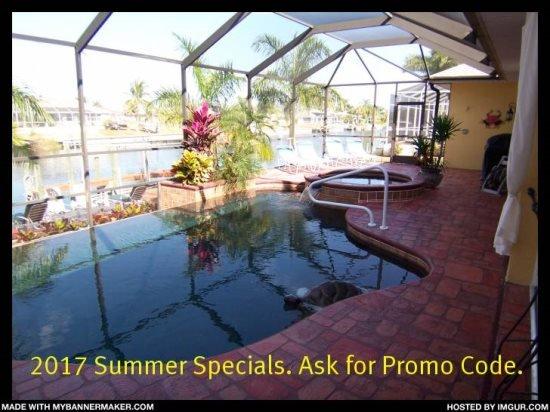 Villa Cecilia - Cape Coral 3b/2ba luxury home with electric heated pool/spa on - Image 1 - Cape Coral - rentals