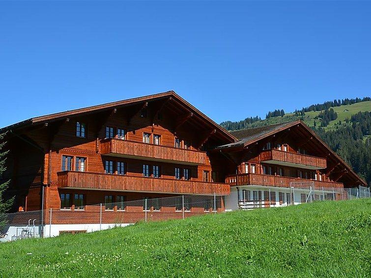 6 bedroom Apartment in Schonried, Bernese Oberland, Switzerland : ref 2297049 - Image 1 - Schönried - rentals