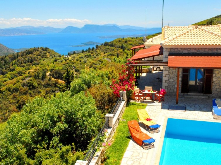 2 bedroom Villa in Lefkada, Greece : ref 2097988 - Image 1 - Vafkeri - rentals