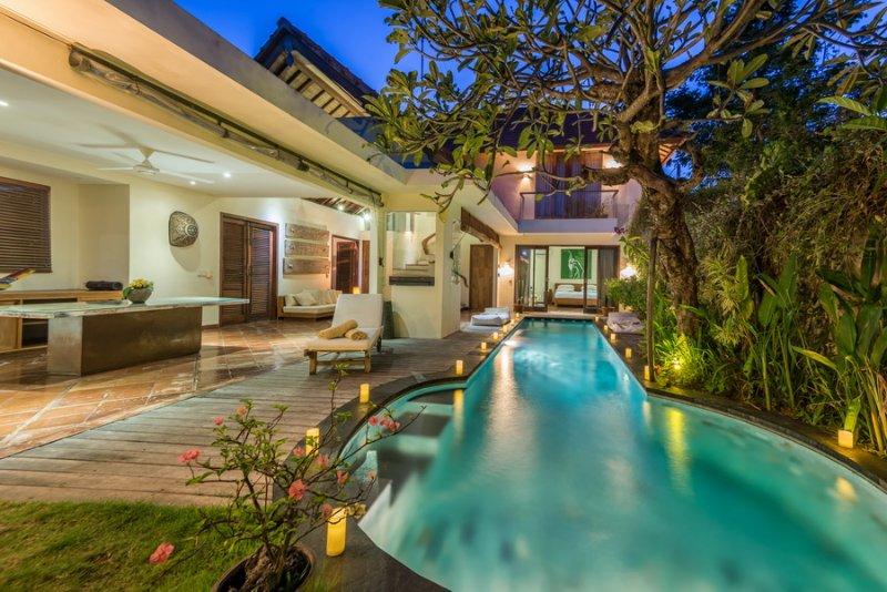Ku Kecil Luxury 2 Bedroom Villa, Pool, Central Seminyak - Image 1 - Seminyak - rentals