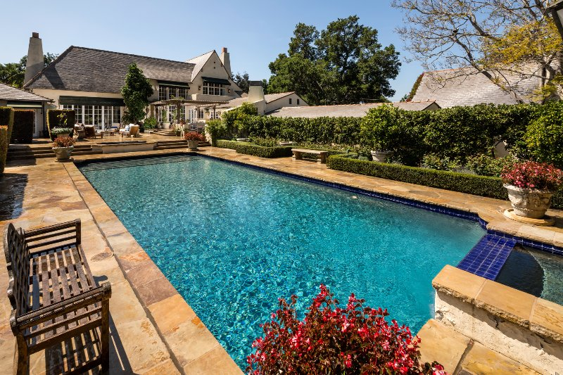 Main pool terrace, so much to enjoy! - Somerset - Montecito - rentals
