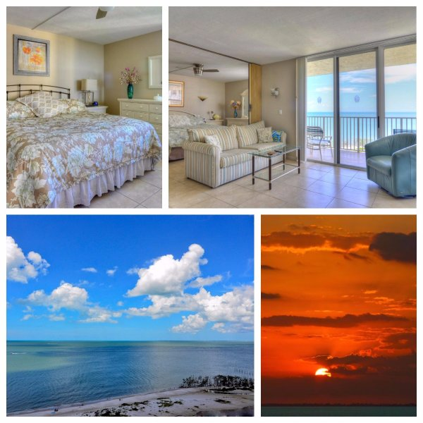 Island Sunsets I & I I - GULF FRONTS - Renovated - Beach-Tennis-WiFi & ROKU - Image 1 - Fort Myers Beach - rentals