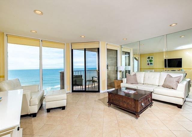 Oceanfront condo at Del Mar Shores Terrace - Image 1 - Solana Beach - rentals