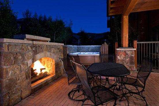 Emerald Lodge Patio - 5110 - 5110 Emerald Lodge, Trappeurs - Steamboat Springs - rentals
