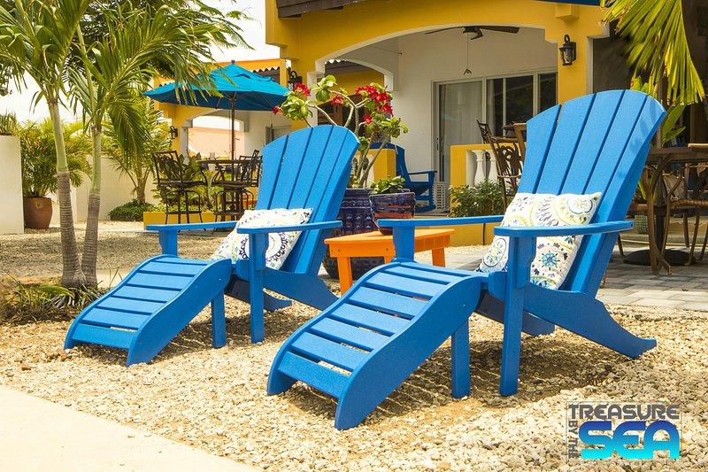 Treasure By The Sea Bonaire KAS DI AMIGU 1 Bedroom Steps to Sea Walk to Town - Image 1 - Kralendijk - rentals
