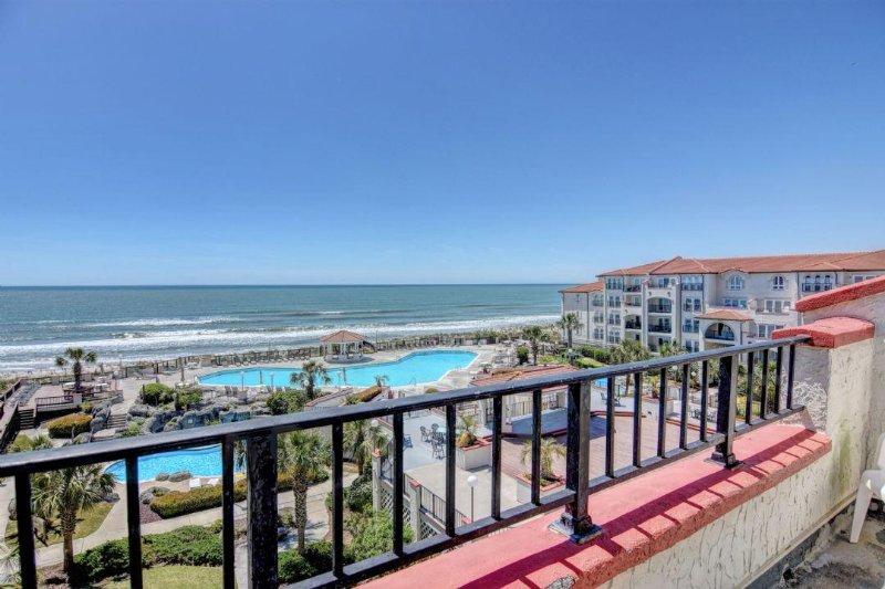 Balcony - Villa Capriani 404B - North Topsail Beach - rentals