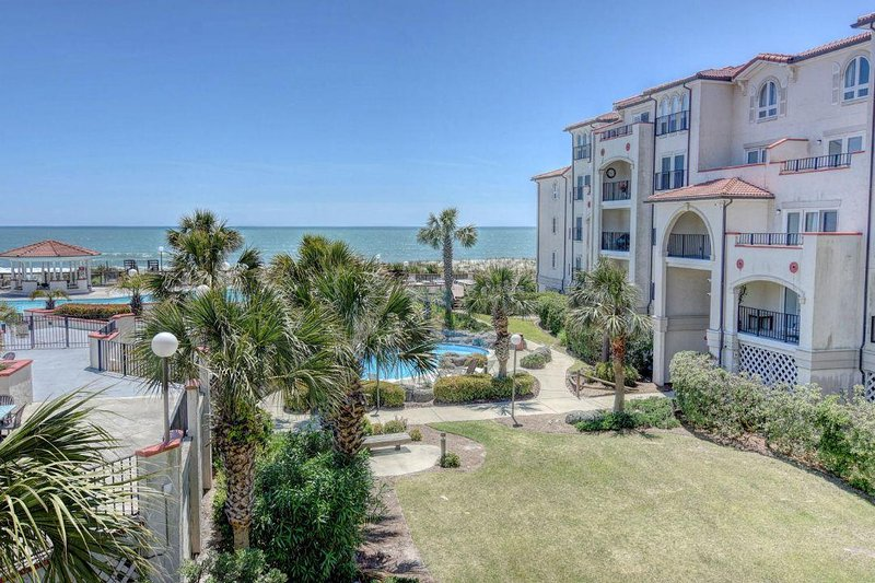 View from Balcony - Villa Capriani 202A - North Topsail Beach - rentals