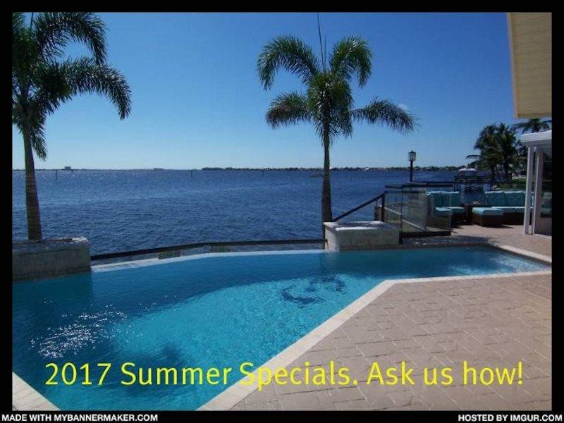 The River View - SE Cape Coral Riverfront, Luxury Pool Home, Contemporary - Image 1 - Cape Coral - rentals
