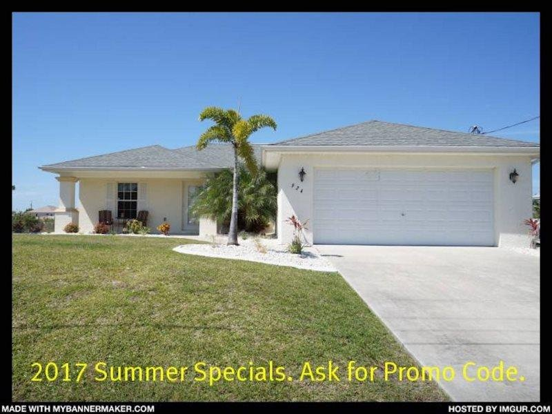 Villa Marr - Cape Coral 3b/2ba home w/solar heated pool, Fresh Water Canal, HSW - Image 1 - Cape Coral - rentals