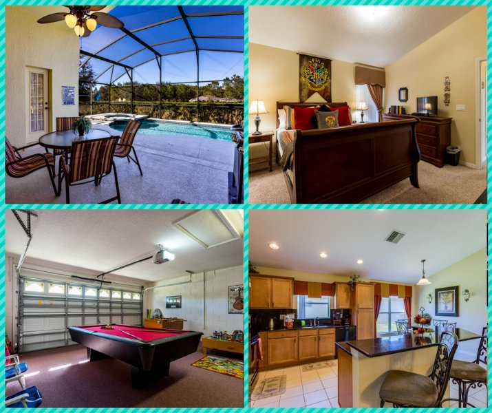 Overview of home - Hawks Nest Villa - Disney Area with Saltwater Pool - Clermont - rentals