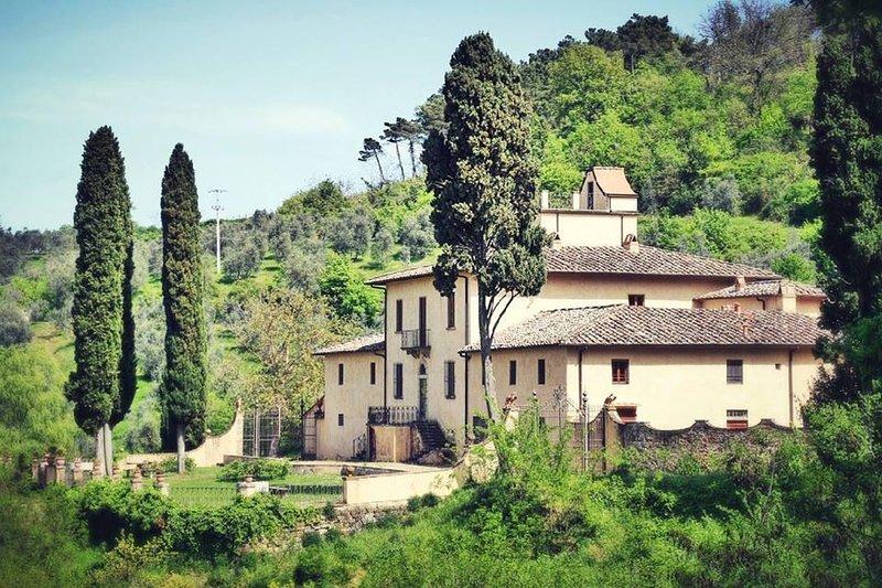 La Villa - Country apartment in a vineyard - chianti tuscany - Greve in Chianti - rentals