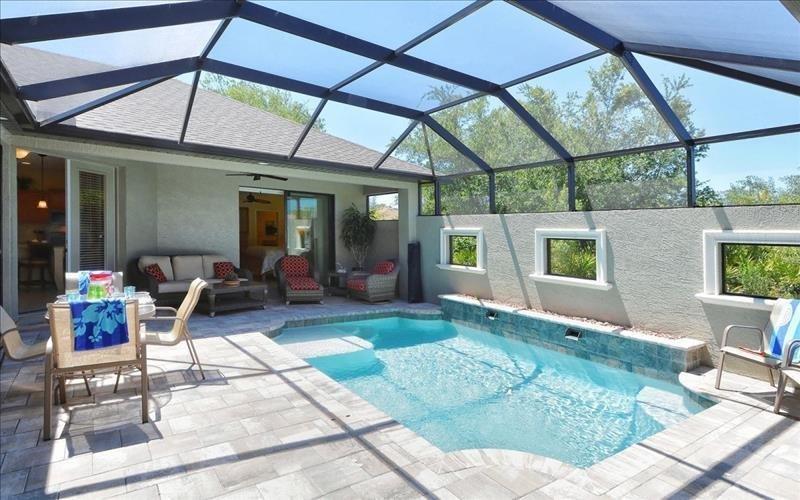 Beautiful private pool in Courtyard - Rotonda Lakes 237 - Rotonda West - rentals