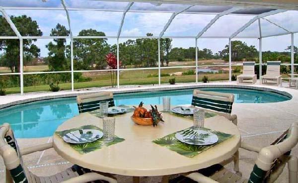 Lanai and pool - Rotonda West 18 - Rotonda West - rentals