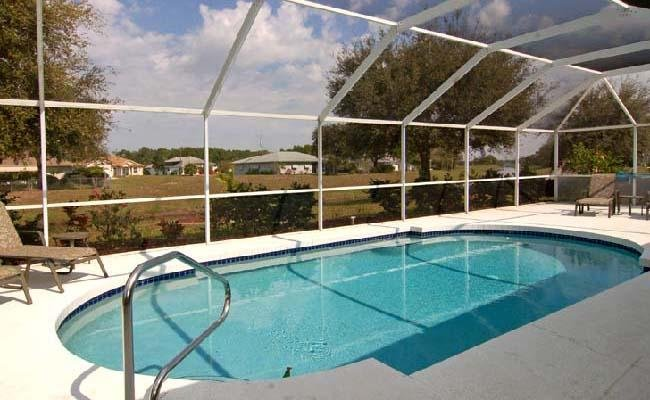 Pool with extended deck area - Rotonda West 166 - Rotonda West - rentals