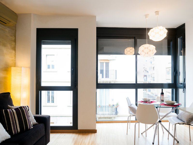 Marquet Beach one bedroom with terrace apartment - Image 1 - Barcelona - rentals