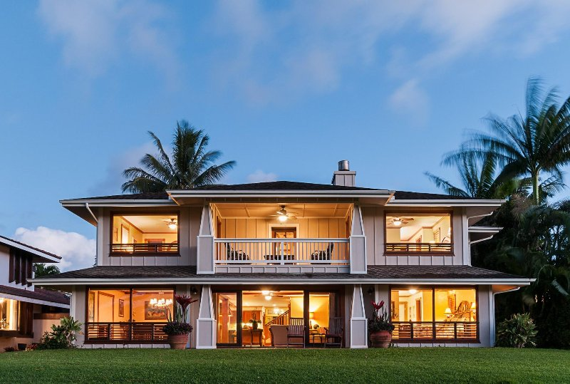 Waioha  The House of Joy - Waioha-- Luxury for Families, Golfers and Weddings - Princeville - rentals