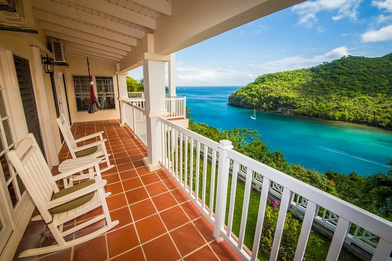 The Great House Overlooking the Entire Marigot Bay - Image 1 - Marigot Bay - rentals