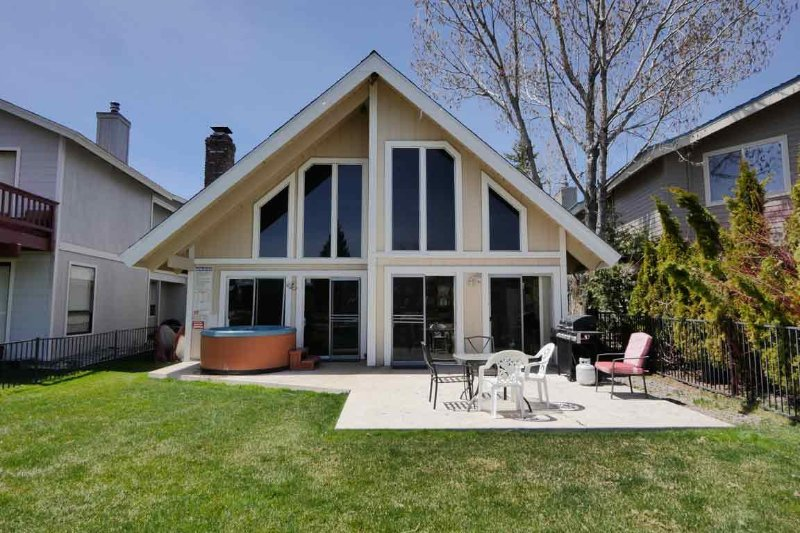 Exterior Back - 1839 Venice Drive - South Lake Tahoe - rentals