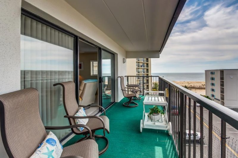 Top-floor ocean view getaway just steps from the beach! - Image 1 - Ocean City - rentals