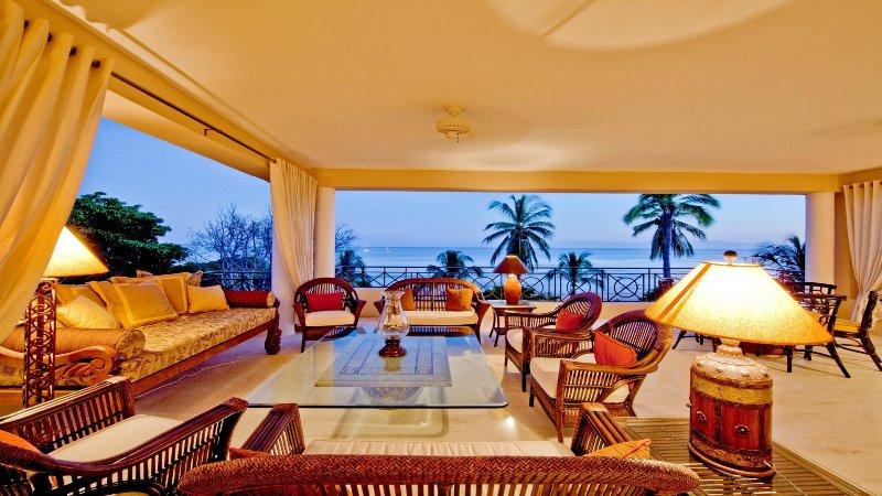 ON THE BEACH • Incredible VIEWS • 4 Seasons Resort • PREMIER CLUB •FT Cook/Hskpr - Image 1 - Punta de Mita - rentals
