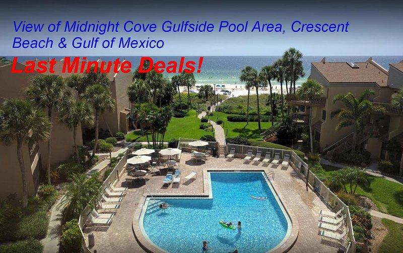Sun, Sand & *Save 20% to 35%* Midnight Cove #532 in Siesta Key, FL - Image 1 - Siesta Key - rentals