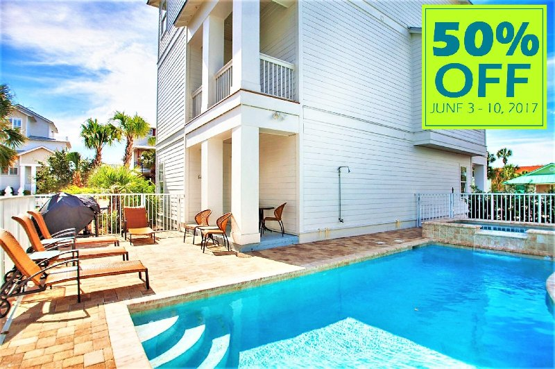 CALL US TODAY OR RESERVE ONLINE USING PROMO CODE: 50JUNE17 - 50% OFF JUNE 3-10, 2017 Sea 'N Stars: NEW! Pool/Spa, Elevator, Near Beach! - Destin - rentals