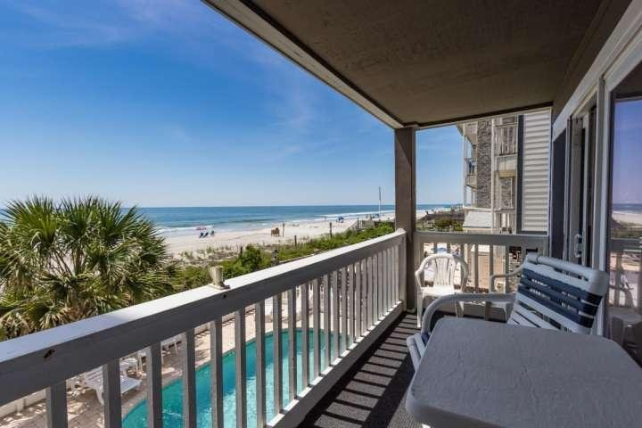 This is the view you and your family will enjoy, this isn't a model unit. - Cape Coddages II 102 - Surfside Beach - rentals