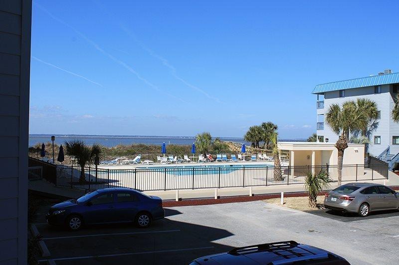 Savannah Beach & Racquet Club Condos - Unit B119 - Water View - Swimming Pool - Image 1 - Tybee Island - rentals