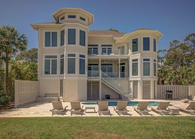 Exterior - 10 Curlew- Direct Oceanfront with Pool & SPA - Hilton Head - rentals