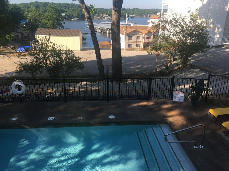 Great pool for all ages. - Lake Breeze Timbers - Lake Ozark - rentals
