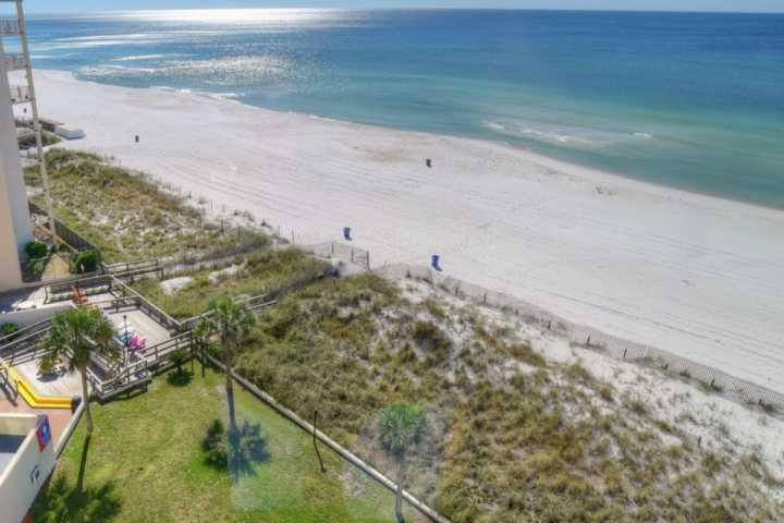 Great View from this 8th floor unit! - 821 Top of the Gulf - Panama City Beach - rentals