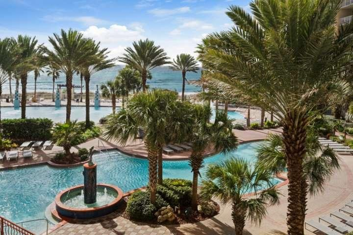 Beautiful Views from our spacious balcony. - 314 Shores of Panama - Panama City Beach - rentals