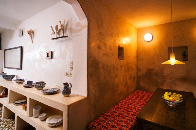Ground Floor: open plan Kitchen / Dining area - Dar Emma - Essaouira - rentals