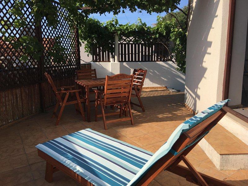 The sunny private terrace - Studio Loza - Great location with private terrace - Split - rentals