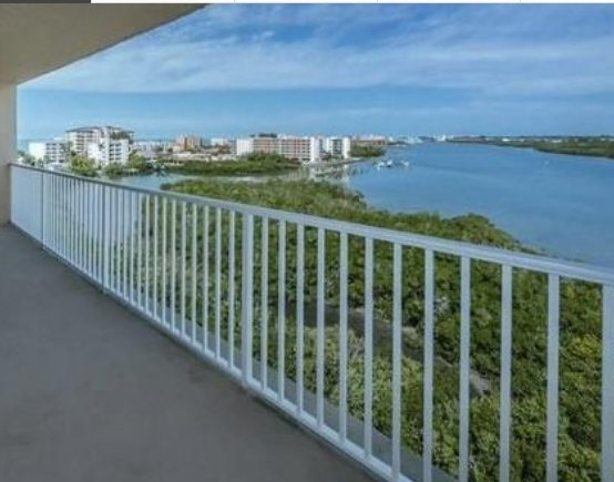 View from private balcony. - BAY SHORES Stunning waterviews & beach 500' away - Indian Shores - rentals