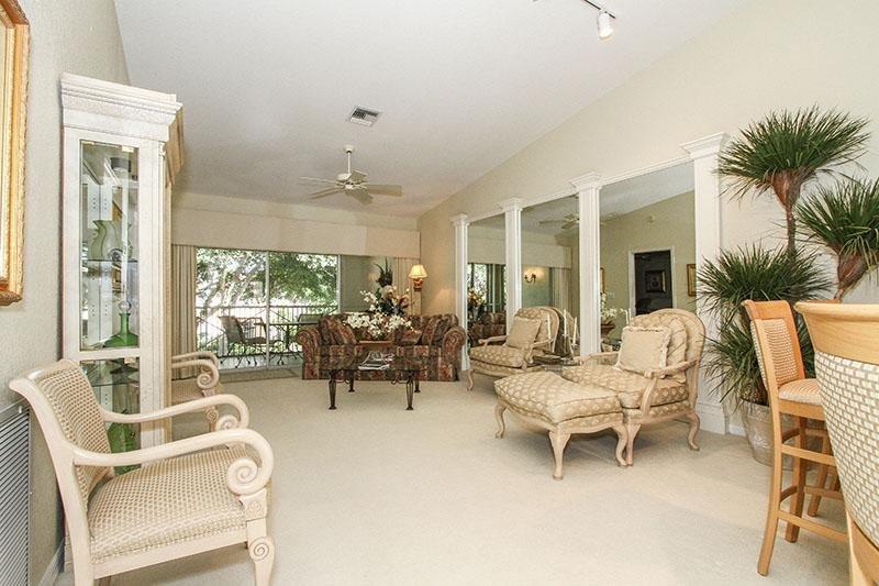 Living Room View 2 - Barrington Club in Pelican Bay - Naples - rentals