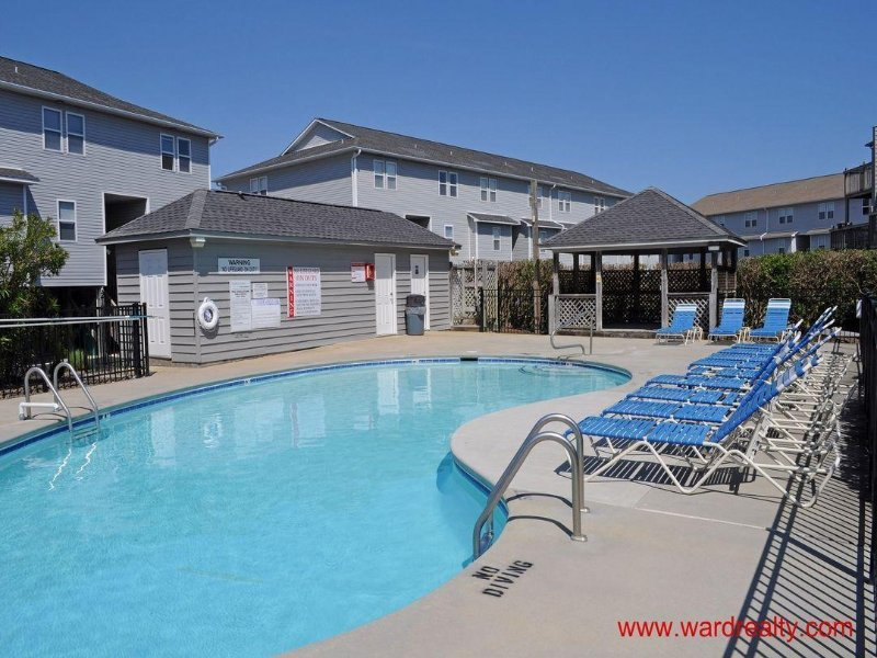 Turtle Cove Community Swimming Pool - Spectacular Sunsets Over the Sound!! - Surfin' Turtle - Surf City - rentals