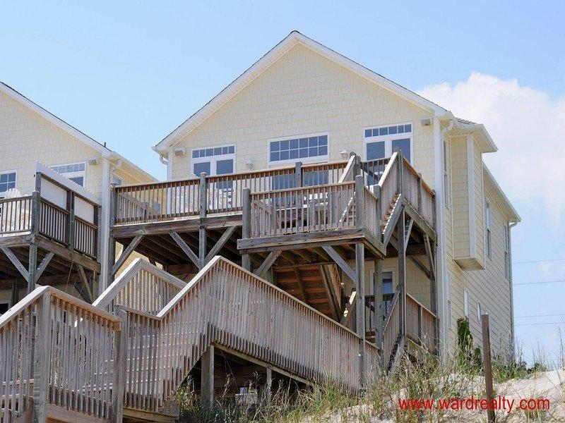 Sunny Side Oceanfront Exterior - Sunny Side - Surf City - rentals