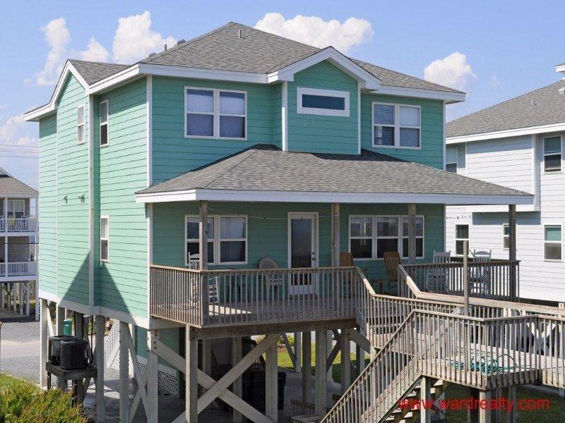 Oceanfront Exterior - Sea Crest - Surf City - rentals