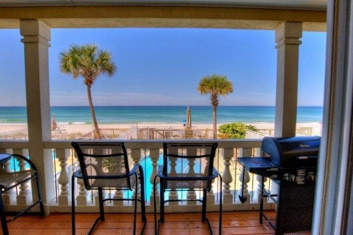 Stunning views from this spacious balcony! - Terrapin Refuge - Panama City Beach - rentals