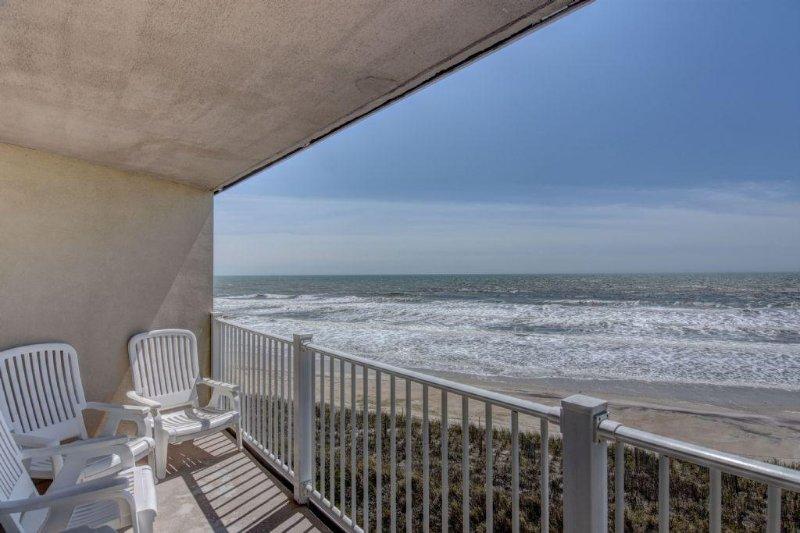 Balcony 1 View - 1307 St. Regis - Sneads Ferry - rentals