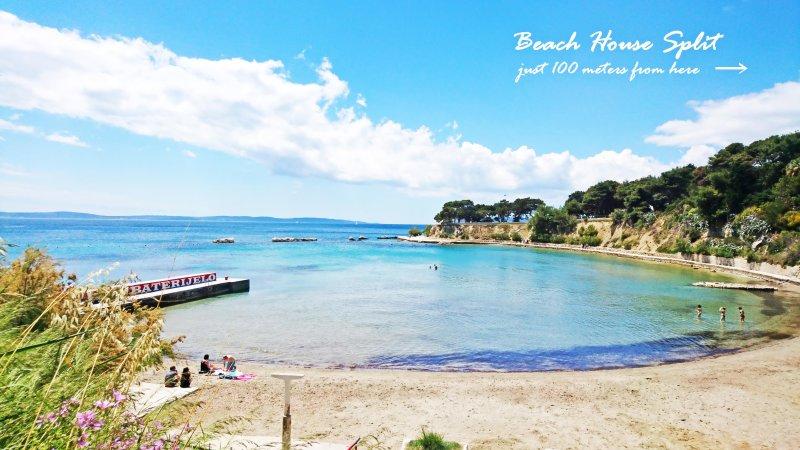 Beach only 100 meters from Beach House Split - Beach House Split - Split - rentals