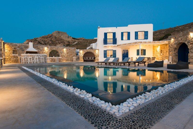 Villa In Mykonos With Magnificent Sea View - Image 1 - Mykonos - rentals