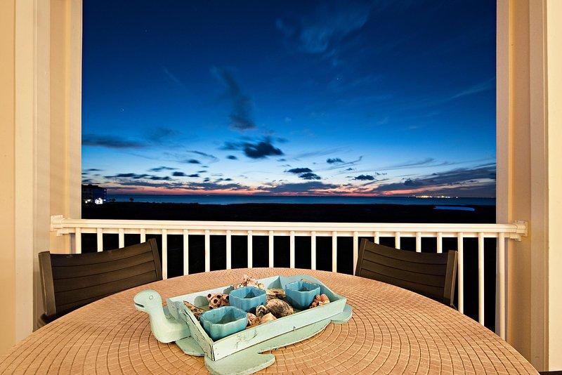Balcony View - Sand N Sunsets @ Pointe West Resort - Galveston - rentals