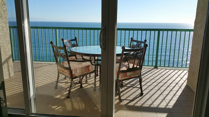 Direct Oceanfront Balcony with Dining Table and Chairs - BRAND NEW Luxury  With  2 Oceanfront Master Suites - Daytona Beach - rentals