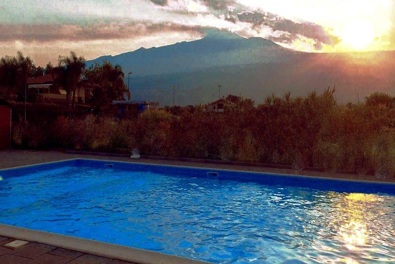 Villa Orchidea - Spacious home near the sea with pool - Image 1 - Riposto - rentals