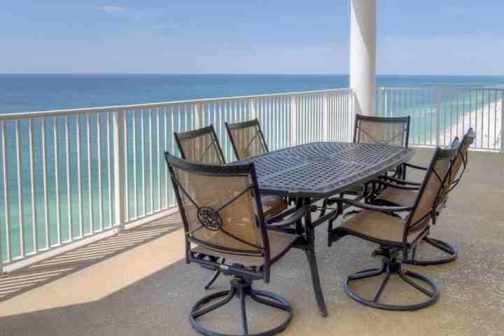 Beautiful Views from our spacious balcony. - 1803 Ocean Ritz - Panama City Beach - rentals