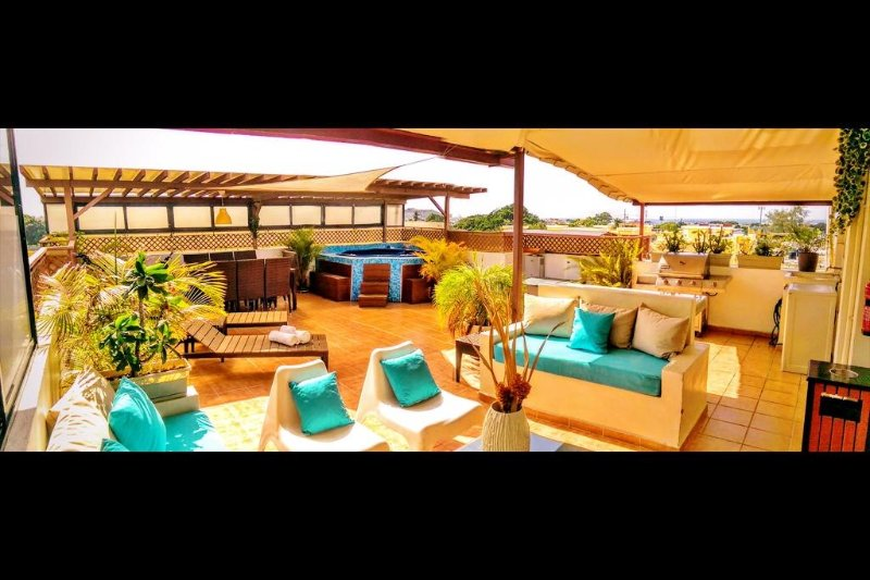 Tropical ambiance luxury Penthouse & jacuzzi - Image 1 - Santo Domingo - rentals